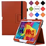 WAWO Samsung Galaxy Tab 4 10.1 Inch Tablet Smart Cover Creative Folio Case (Brown)