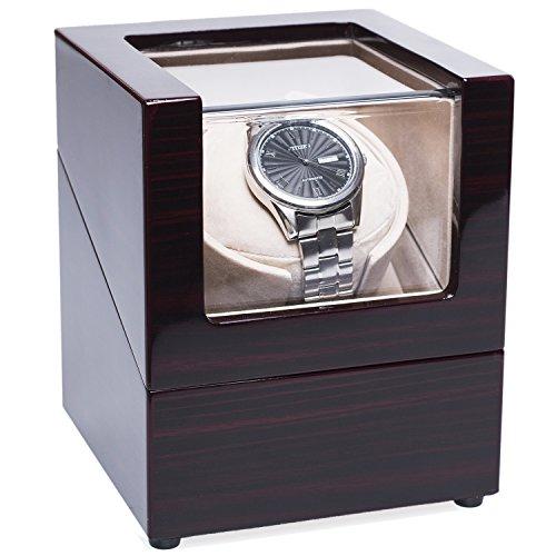 [100% Handgemacht] CHIYODA Uhrenbeweger für 1 Uhr Watch Winder mit Mabuchi Motor