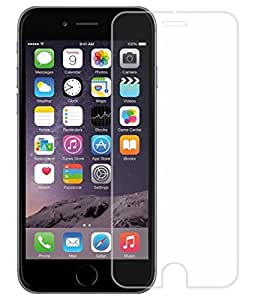 Apple iPhone 6 & 6S Compatible Tempered Glass Screen Protector (Antishock, Curved Edged) (Pack of 2, Only Front Transparent Screen Protector) (Combo Offer, get a VJOY 2600 mAh Power-Bank INDIGO (1 Year Replacement Guarantee, Lithium Polymer Battery, Long Battery-Life) worth Rupee 999/- absolutely free with Screen Protector)