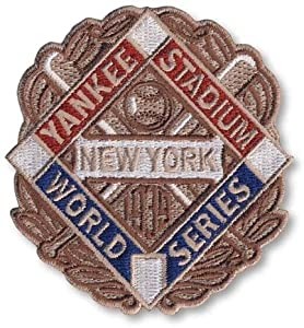 2 Patch Pack - 1939 New York Yankees World Series MLB Baseball Patches Cooperstown... by Hall of Fame Memorabilia