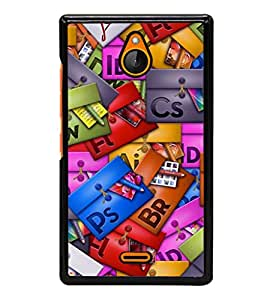 printtech Cool Pattern Back Case Cover for Nokia X2 RM-1013, Nokia X2DS
