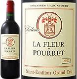 Amazon.co.jpシャトー・ラ・フルール・プレ 2003 フランス 赤ワイン 750ml ミディアムボディ寄りのフルボディ 辛口