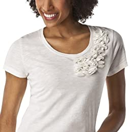 Product Image Merona&#174; Women's Artist Ruffle Tee - Polar Bear