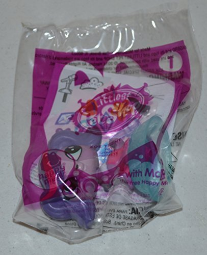 Mcdonalds Littlest Pet Shop Zoe Trent #1 From 2014 - 1