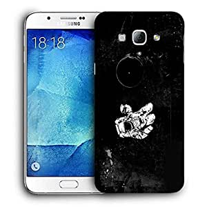 Snoogg Astronaut Printed Protective Phone Back Case Cover For Samsung Galaxy Note 5