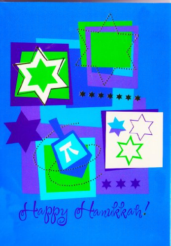 Chanukah Card 18 Holiday Star Of David Menorah