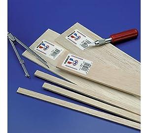 balsa wood sheet 36 1 16 x3 20 per pack. Black Bedroom Furniture Sets. Home Design Ideas