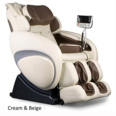 Osaki OS-4000 Premium Massage Chair - Executive Zero Gravity Comfortable Leather Recliner Seating - Amazing Professional Therapy for the Full Body - 6 Programs & Auto-Detect - 4 Color Options