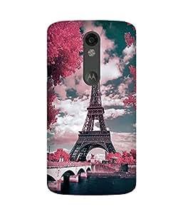 Eiffel Motorola Moto X Force Case