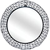 Ruhi Collections Metal Decorative Wall Mirror For Home Décor - B01FSDHJXE