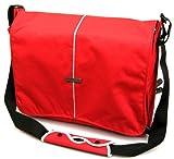 "Hercules ""Super Strong"" LP-1500R 15-Inch Laptop Messenger Bag (Red)"