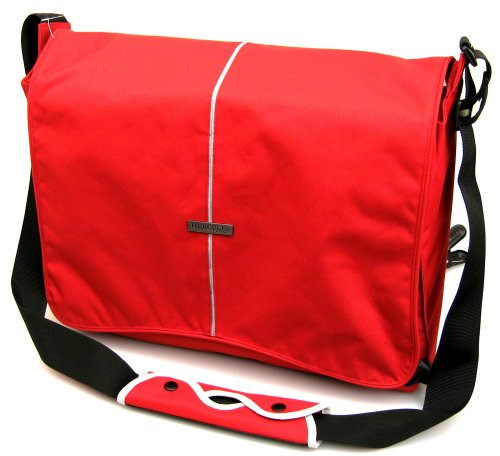 "Hercules ""Super Strong"" LP-1700R 17-Inch Laptop Messenger Bag (Red)"