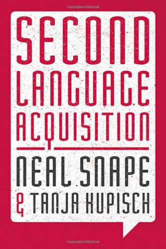 Second Language Acquisition: Second Language Systems (Palgrave Modern Linguistics)