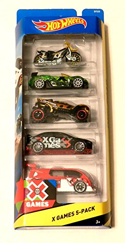 Mattel Hot Wheels X Games 5-Pack
