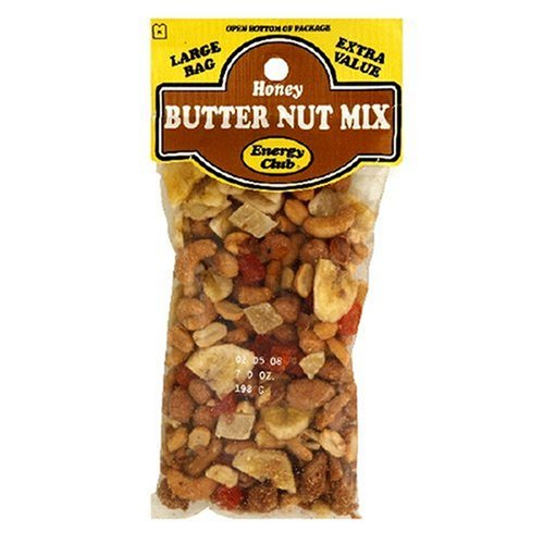 Buy Energy Club Honey Butter Nut Mix, 7-Ounce Bags (Pack of 12) (Energy Club, Health & Personal Care, Products, Food & Snacks, Snacks Cookies & Candy, Snack Food, Trail Mix)