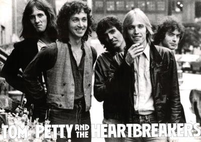 Tom Petty and the Heartbreakers Group Music Poster Print - 24x33