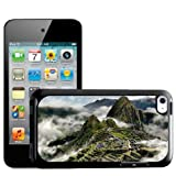 Fancy A Snuggle Mists in Mountains Machu Picchu Peru Design Hard Back Case Cover for Apple iPod Touch 4th Generation