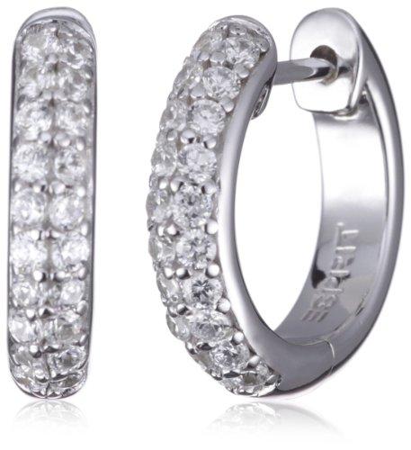 Esprit Damen-Creolen elegance 925 Sterlingsilber ESCO90704A000