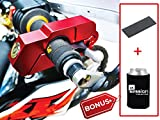 Motorcycle Lock BEST Quality Heavy Duty Helps Stop Theft Motorcycles Mopeds Scooters ATVs Street Bike Dirt Bike Motorbike use on Grip Brake Simple Quick W/FREE Anti Scratch Lever Protector Alarm
