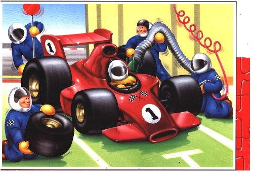 Vehicles Race Car 20pc Jigsaw Puzzle - Jumbo 828B