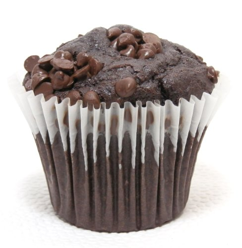 Low Carb Chocolate Muffin - Only 3 Carbs Net Per Muffin - 6 Pack - Best Tasting Diet Product Ever!
