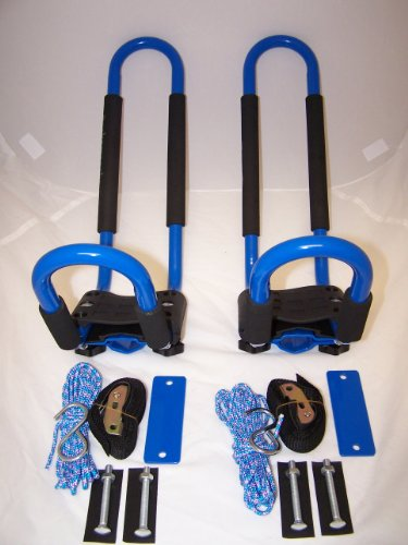 PK-KRB2 2 Pairs of BLUE Universal Kayak J Racks