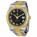 Rolex Men's m116333-0003 Datejust II Black Watch
