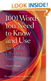 1001 Words You Need To Know and Use: An A-Z of Effective Vocabulary