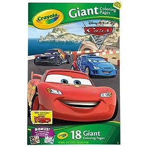 Amazon.com : Crayola Giant Coloring Pages - Disney Pixar ...