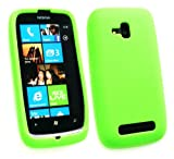 Acquista Emartbuy ® Nokia Lumia 610 In Silicone Cover / Case Verde