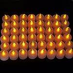 EZI 48 Pcs Flameless Flickering LED T...