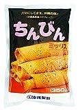 【沖縄伝統おやつ】 ちんびんミックス(沖縄風黒糖入りクレープ専用粉) 350g×5袋