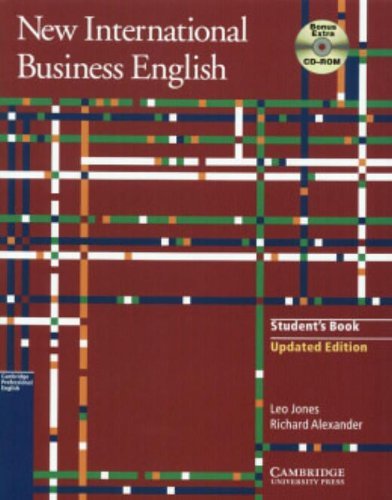 New International Business English Updated Edition Student's Book with Bonus Extra BEC Vantage Preparation CD-ROM: Communication Skills in English for Business Purposes