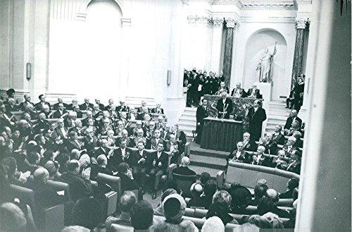 statesman-tedesco-vintage-konrad-adenauer-hermann-joseph-a-una-riunione