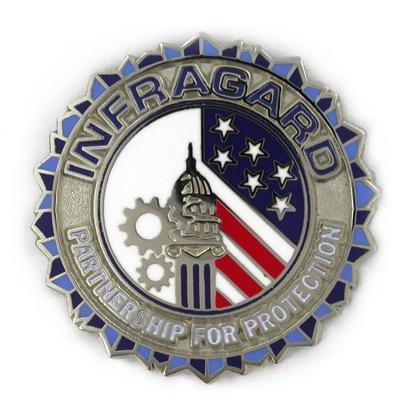 INFRAGARD Member Pin *Buy 1 Get 1 Free*