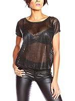 Ella Richter Paris Camiseta Manga Corta Margie (Negro)