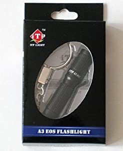 iTP A3 EOS CREE XP-G2 130 Lumen Flashlight -Upgrade Version 1X AAA battery