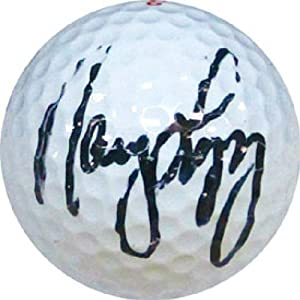Nancy Lopez Autographed Signed Golf Ball by Memorabilia