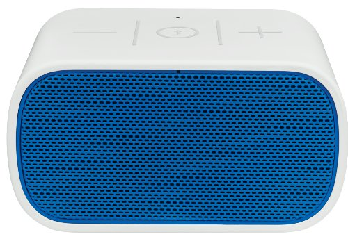 Logitech Ue 984-000294 Mobile Boombox Bluetooth Speaker And Speakerphone (Blue Grill/Light Grey)