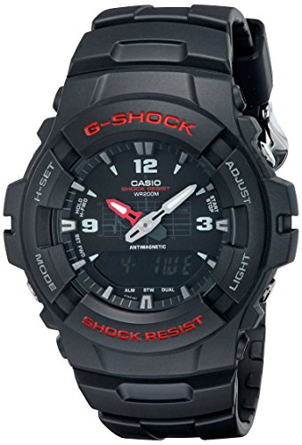 G-Shock G100-BV Men's Black Resin Sport Watch (Amazon G Shock compare prices)