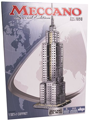 Meccano 6024597 - Confezione di Pezzi Metallici Che Ti Consentirà di Costruire Empire State Building
