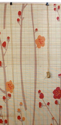 Bamboo Window Blind with Printing- 30