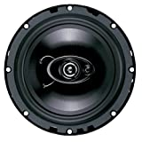 "Boss D65.3 Diablo 6.5"" 3-Way Speaker - Single (Black)"