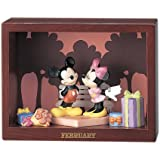 Monthly figure Collection Mickey u0026 Friends February Valentine ( Disney ) KD-179B
