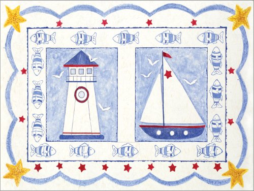 "Art 4 Kids ""The High Seas"" Mounted Art Print, 24""X18"" front-1033378"