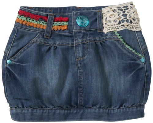 Desigual Mädchen Rock (mini) Regular Fit 20F3030, Gr. 146/152 (11/12), Blau (Navy 5000) thumbnail