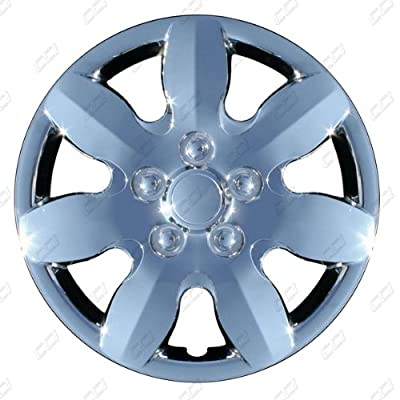 CCI IWC434-15S 15 Inch Clip On Silver Finish Hubcaps - Pack of 4
