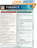 Finance Equations & Answers (Quickstudy: Academic)