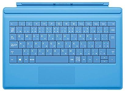 マイクロソフト 【純正】Surface Pro 3用(Pro 2/Pro/2兼用) Surface Pro Type Cover (シアン) RD2-00091