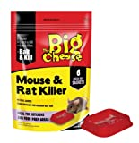 The Big Cheese Mouse And Rat Killer 6 Pasta Sachets Mice and Rat Killer Fast